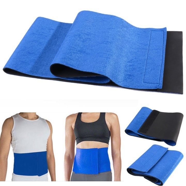 New Adjustable Free Size Trimmer Sauna Belt Slimming Belt Burner Belly Fitness Body Wrap Cellulite Shaper For Men Women 9
