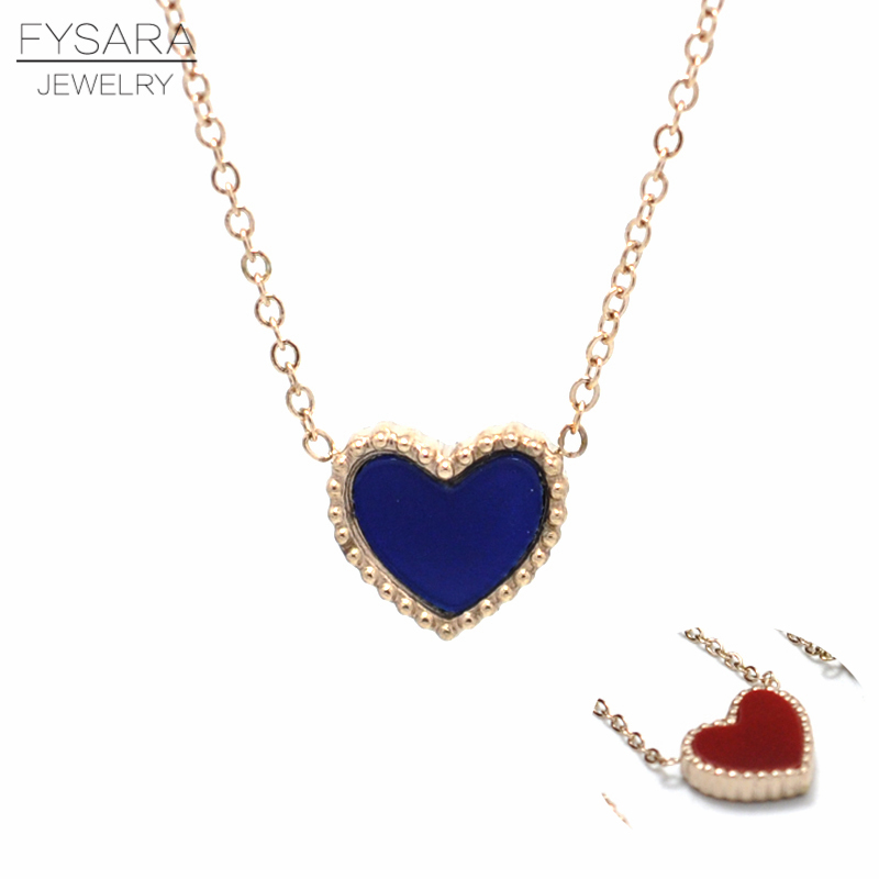 FYSARA Luxury Brand Double Color Love Heart Pendant Necklace For Women Wedding Jewelry Rose Gold Classic Shell Short Necklaces  9mm clocks | Review of the Glock 19:  9mm Compact Handgun FYSARA Luxury Brand Double Color Love Heart Pendant Necklace For Women Wedding Jewelry Rose Gold Classic