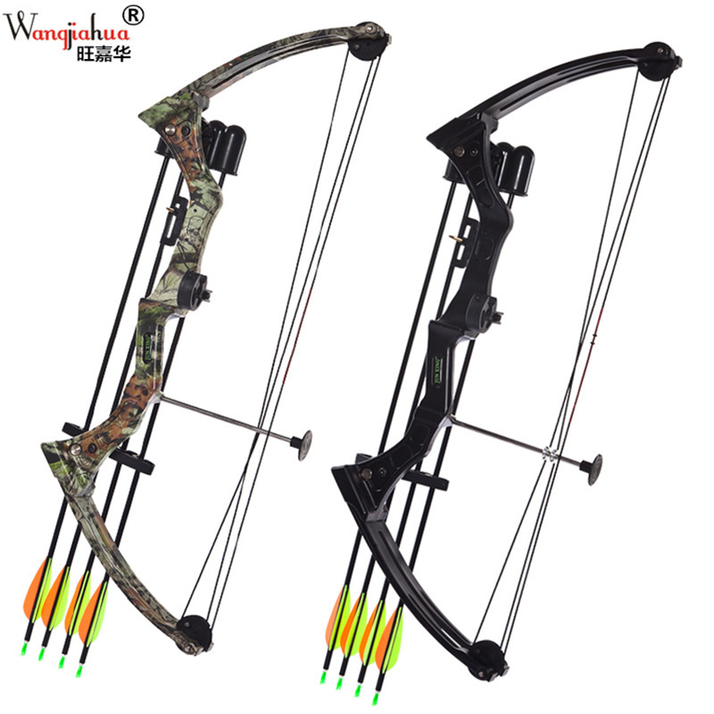 15-20 Lbs Compound Bow With Complete Accessories Women Teenager Children Practice Archery Bow Arrow Outdoor Hunting Shooting G05