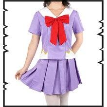여자의 애니메이션 미래 일기의 코스프레 의상 여자의 제 2 미키 니키 유노 가자이 의상 할로윈 파티 학교 제복 복장