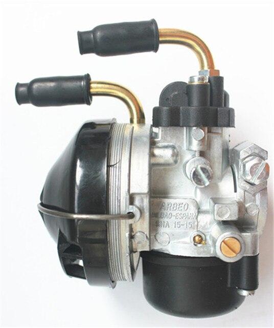 Carburateur carbu用15 dellorto sha 15/15用プジョー103 mbk 51 av10ヌフキャブレター