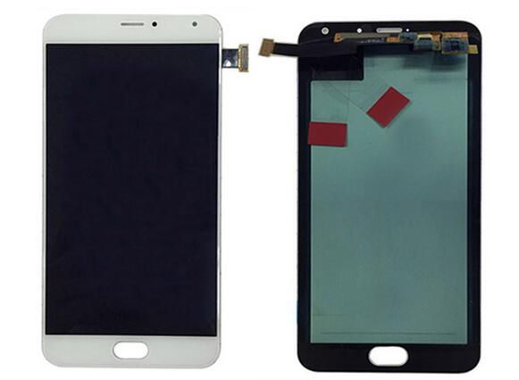 5.7 For Meizu MX5 Pro LCD Display+Touch Digitizer Screen Assembly black/White by free shipping
