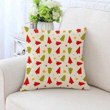 BZ200 Printed Series Pillowcase Pillow Cover Machine Washable Home Textile 45cm*45cm/18x18 Inch