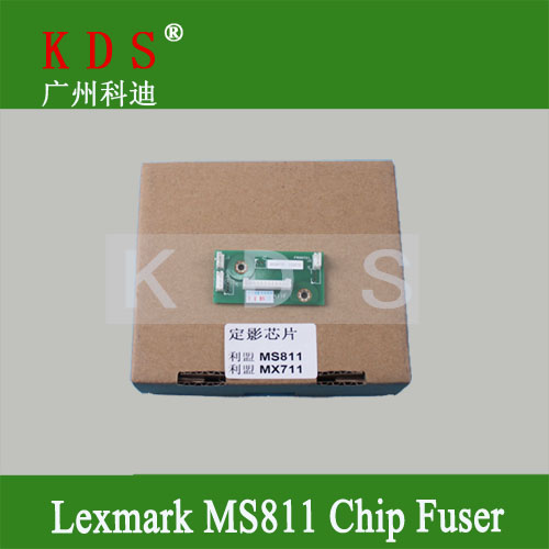 Original Printer Part Chip for Lexmark MX810 MX811 MX812 MX711 MX710 MS811 MS810 Fuser Chip 40G4135 Remove from New Machine chip for lexmark mx 811 dtme for lexmark 812 dtfe for lexmark mx 810dme new toner refill kits chips fuses free shipping