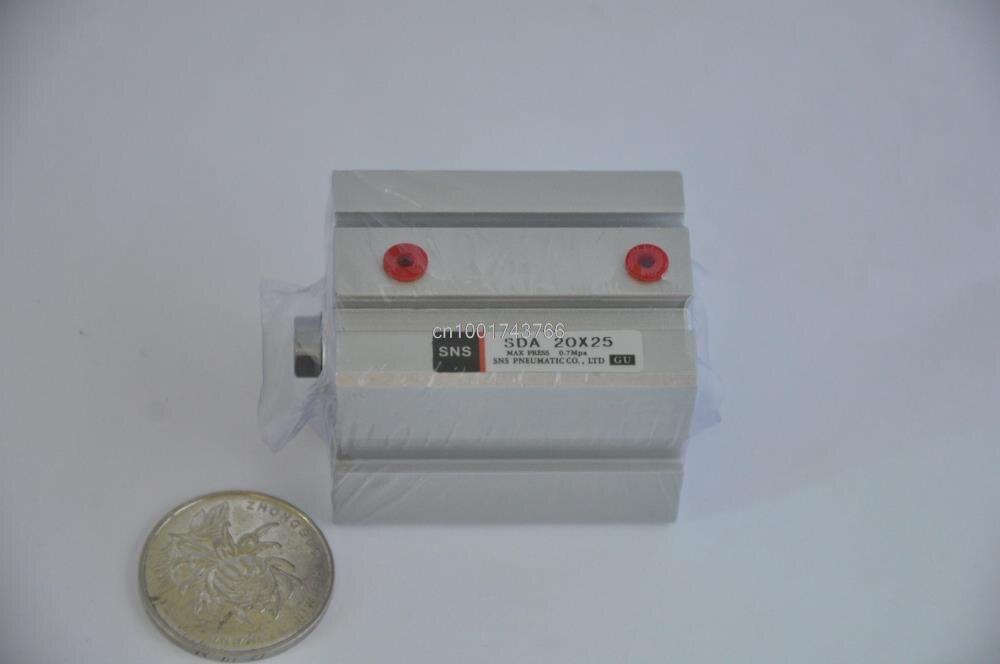 все цены на SDA20*25 RcM5 compact cylinder SNS pnematic parts Airtac type actuator air cylinder Hydraulic cylinder SDA Series M8*1.25 онлайн