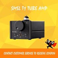 ASD SMSL T1 AK4490EQ + CM6632A ЦАП DSD512 трубки 384 кГц/32Bit оптический/коаксиальный/XMOS/USB ЦАП цифровой ламповый усилитель