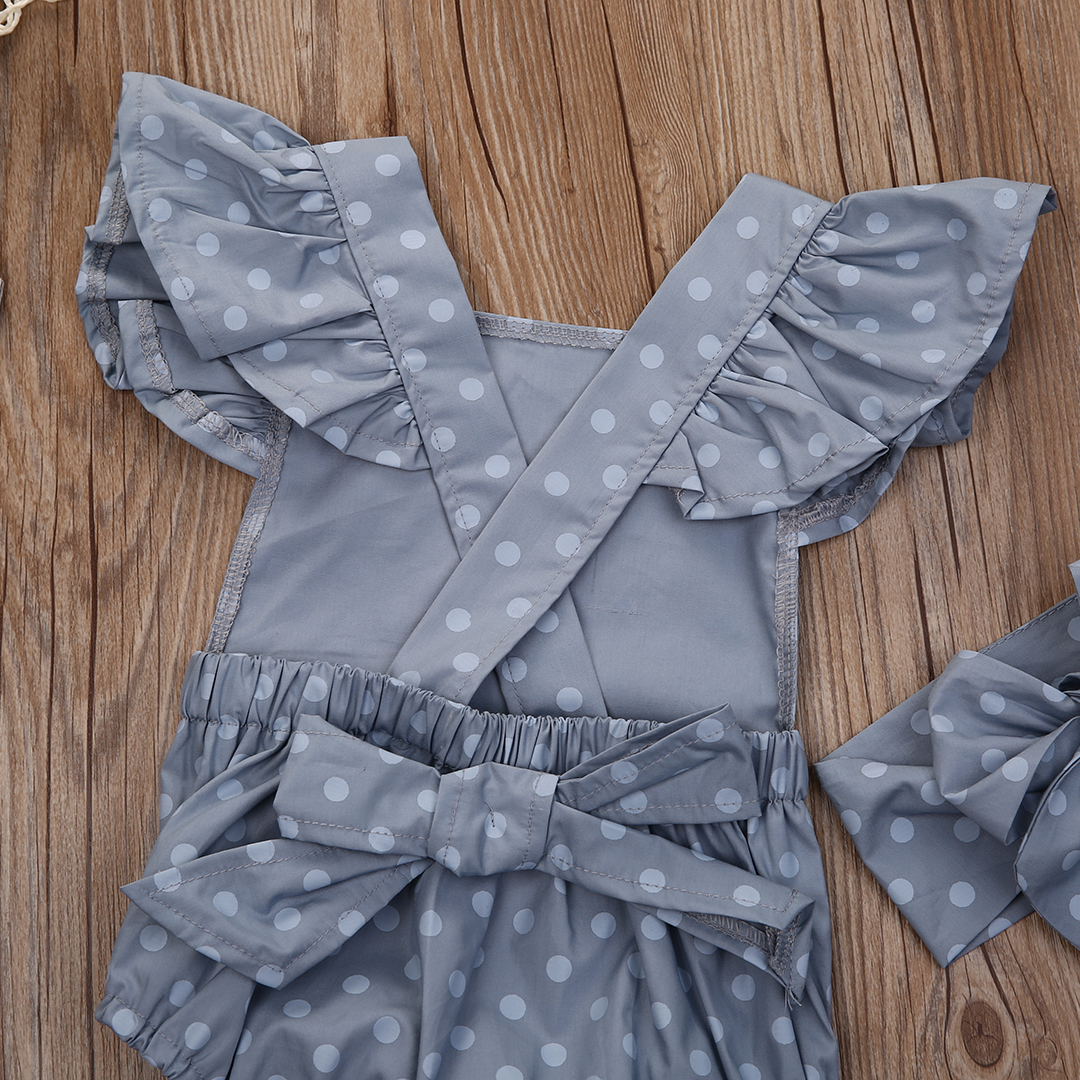 2PcsSet-Polka-Dot-Newborn-Baby-Girls-Clothes-Butterfly-Sleeve-Romper-Jumpsuit-Sunsuit-Outfits-2