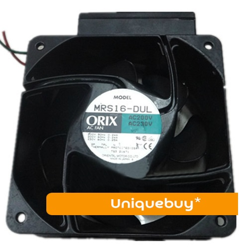 200-230V 41/51W MRS16-DUL for ORIX cooling fan Special-purpose mechanical and electrical equipment emacro orix mrs16 dta ac 230v 0 25a 160x160x60mm server square fan