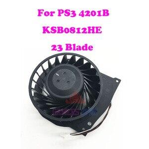 Image 1 - ソニーのプレイステーション 3 PS3 スーパースリム CECH 4201B 冷却ファンブラシレス KSB0812HE