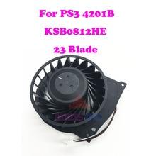 Per Sony Playstation 3 PS3 Super Sottile CECH 4201B Ventola Di Raffreddamento Brushless KSB0812HE