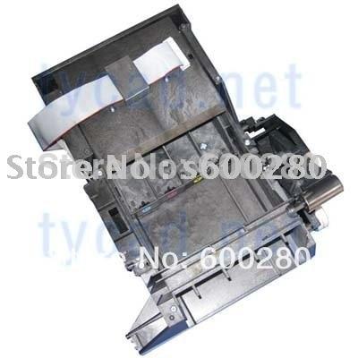 Service station assembly for HP DesignJet 1050C 1055CM C6074-60399 C6072-60178 used for hp designjet 1050 1055 1050ps printer chip decoder for hp 80 ink cartridge