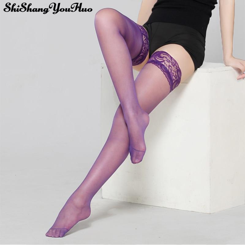 Women Sexy Lingerie Lady Black Lace Pantyhose Transparent Stocking Hosiery Exotic Medias De Mujer Lenceria Sobretudo Feminino
