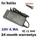 19 V 4.74A 5.5*2.5mm 90 W Para ASUS Adaptador AC fonte de Alimentação Laptop Carregador ADP-90CD DB ADP-90AB A46C M50 X43B S5 W7 F25