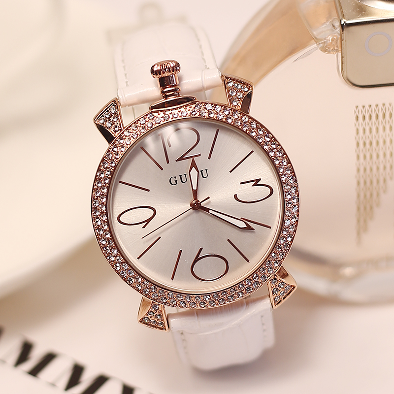 2016 Fashion Diamond watches with paragraph gaga lady fashion casual watch Specials Luxury Female Wristwatches