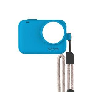Image 4 - Original SJCAM Silicone Sleeve + Adjustable Lanyard Protective Case for SJ9Series / SJ9 Strike / SJ9 Max Sports Action Camera