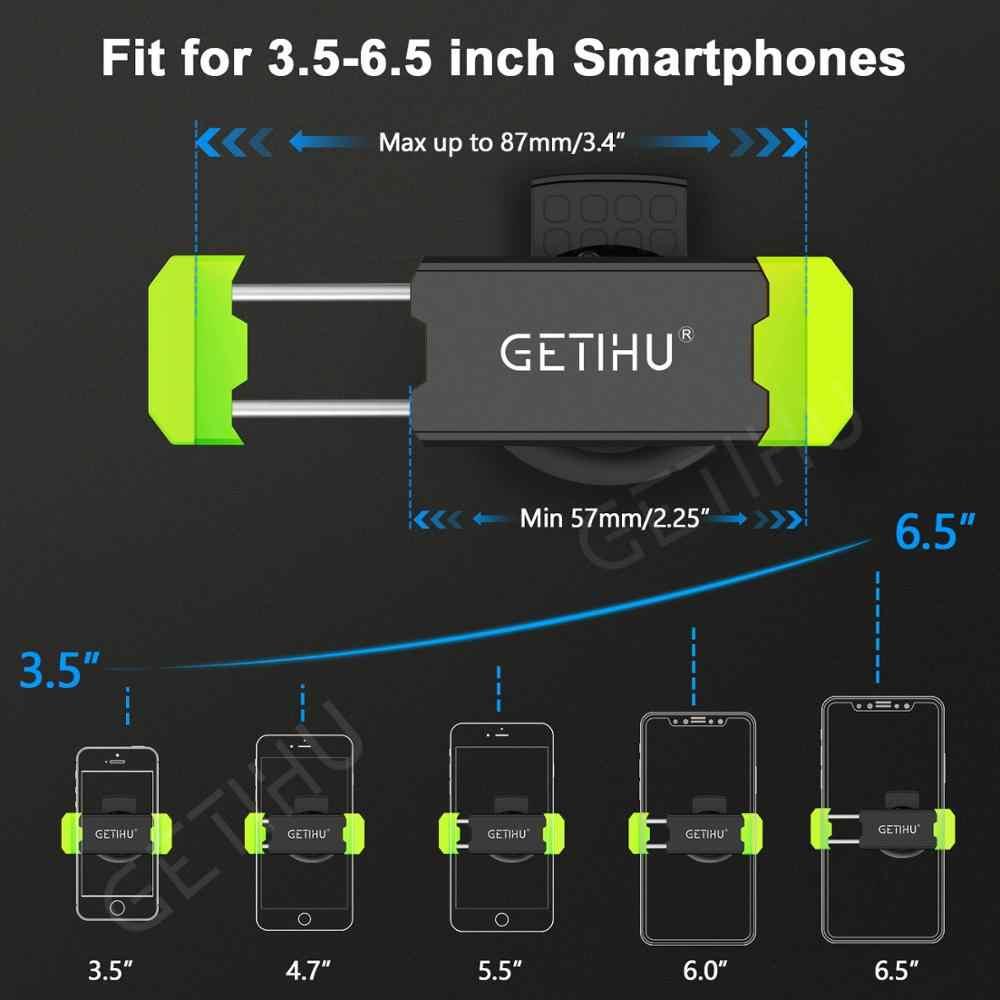 Getihu Mobil Ponsel Pemegang untuk iPhone X XS MAX 8 7 6 Samsung 360 Derajat Dukungan Ponsel Ventilasi Udara mobil Pemegang Telepon Berdiri Di Mobil