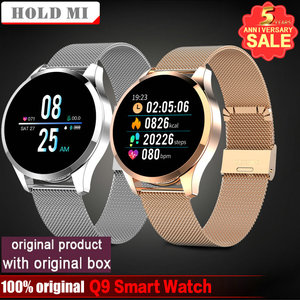 Image 1 - Q8 Q9 Smart Watch Bluetooth Waterproof Message Call Reminder Smartwatch Men Heart Rate Monitor Fitness Tracker Android IOS Phone