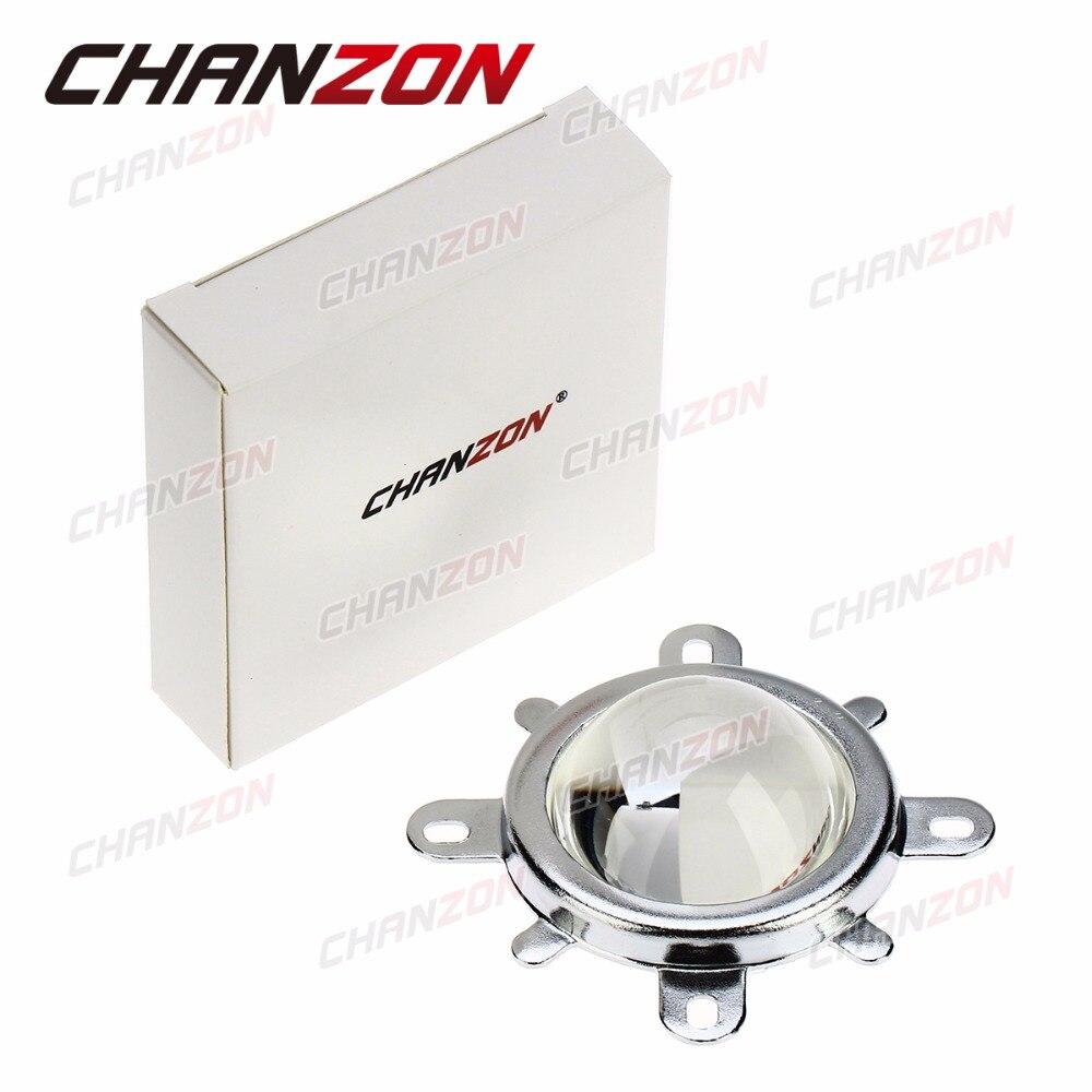 1 juego Cristal óptico de lente LED de 44 mm 60 grados + 50 mm - Instrumentos de medición - foto 6