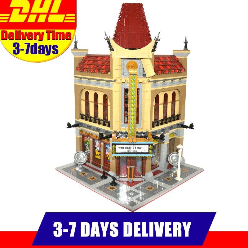 2017 MOC LEPIN 15006 2354pcs Palace Cinema Model Building Blocks Set Bricks Toys Compatible With 10232 Gift lepin 22001 pirate ship imperial warships model building block briks toys gift 1717pcs compatible legoed 10210