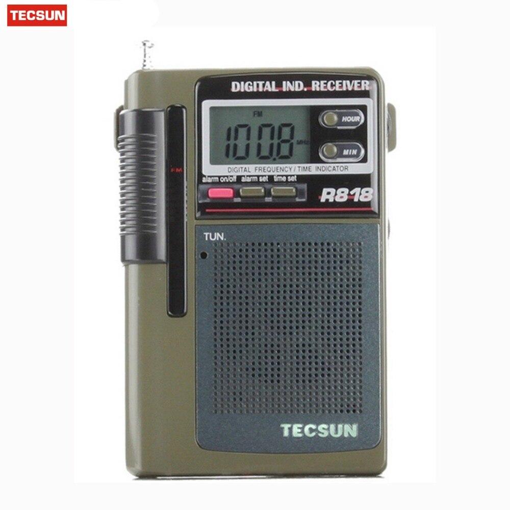 Externe Antenne Tragbare Radio Fm Y4138g GüNstigster Preis Von Unserer Website Qualität Tecsun R-818 Radio Fm Tasche Fm/mw/sw Empfänger Volle Band Digital Wecker Radio