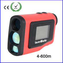 2016 New Monocular Angle of Elevation 600M Laser Golf Rangefinder Laser Height Angle Finder with angle and Slope Function