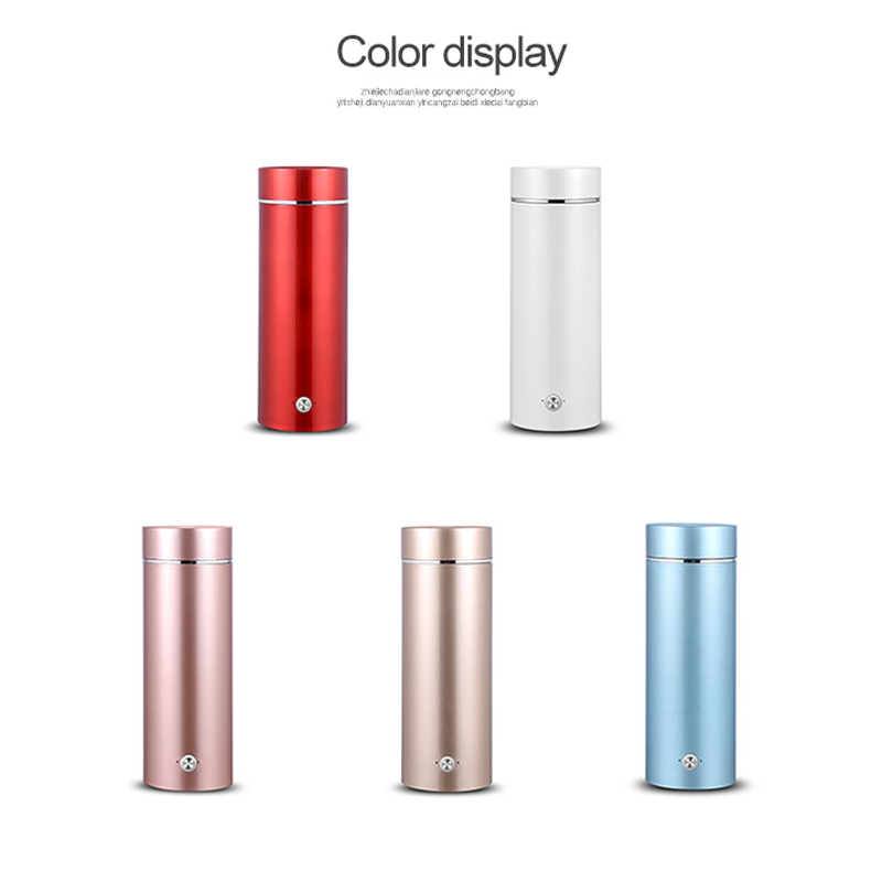 Image 3 - Portable mini Electric Kettle water thermal heating boiler travel Stainless Steel tea pot coffee milk boiling cup 110V 220V-in Electric Kettles from Home Appliances