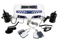 Detox Machine Professional Deep Cleansing Ionic Detox AH 805D for two persons with Two Pairs Massager Slippers