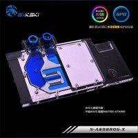 Bykski GPU Water Block for ASUS Hacker MATRIX GTX980 GTX780 Full Cover Graphics Card water cooler