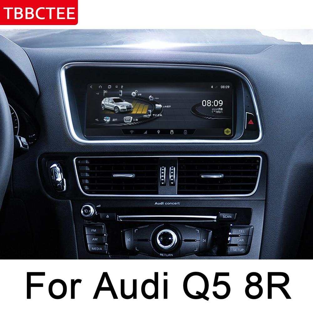 For Audi Q5 8R 2008~2017 MMI Android Car Multimedia player GPS Navi Map Stereo Bluetooth 1080p IPS Screen WiFi HD Map Autoradio