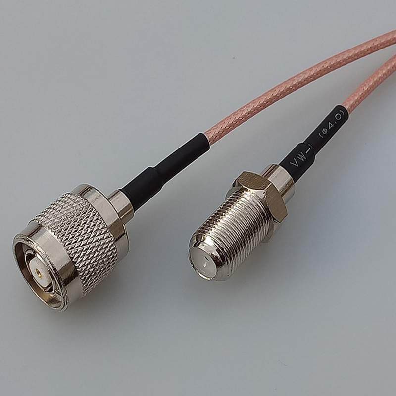 Customize WIFI antenna adapter RP TNC male plug switch F female jack pigtail cable RG316 15cm TNC Connector adapter sma plug male to 2 sma jack female t type rf connector triple 1m2f brass gold plating vc657 p0 5