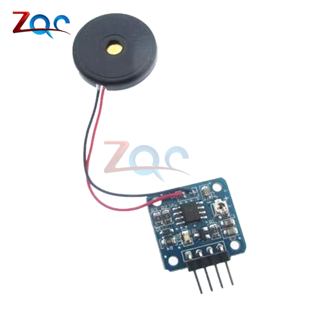 5V Piezoelectric Film Vibration Sensor Switch Module TTL Level Output For  Arduino