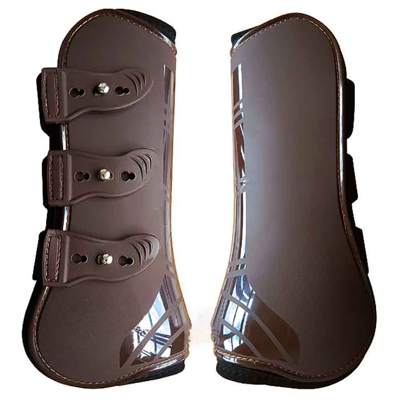 PU Neoprene Horse Leg Protector Harness Equestrian Horse Riding Leggings Boots Equipment Accessories Horse Boots