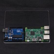 Прозрачный Акриловый Монтажная Пластина для Экспериментальной Платформы совместимо для Arduino 2560 Raspberry Pi Arduino R3 3 2