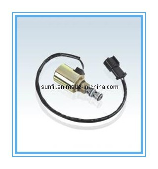 Wholesale Excavator spare parts PC200-6 Solenoid (6D95), 20Y-60-22121 20Y-60-22122,5PCS/LOT,Free shipping