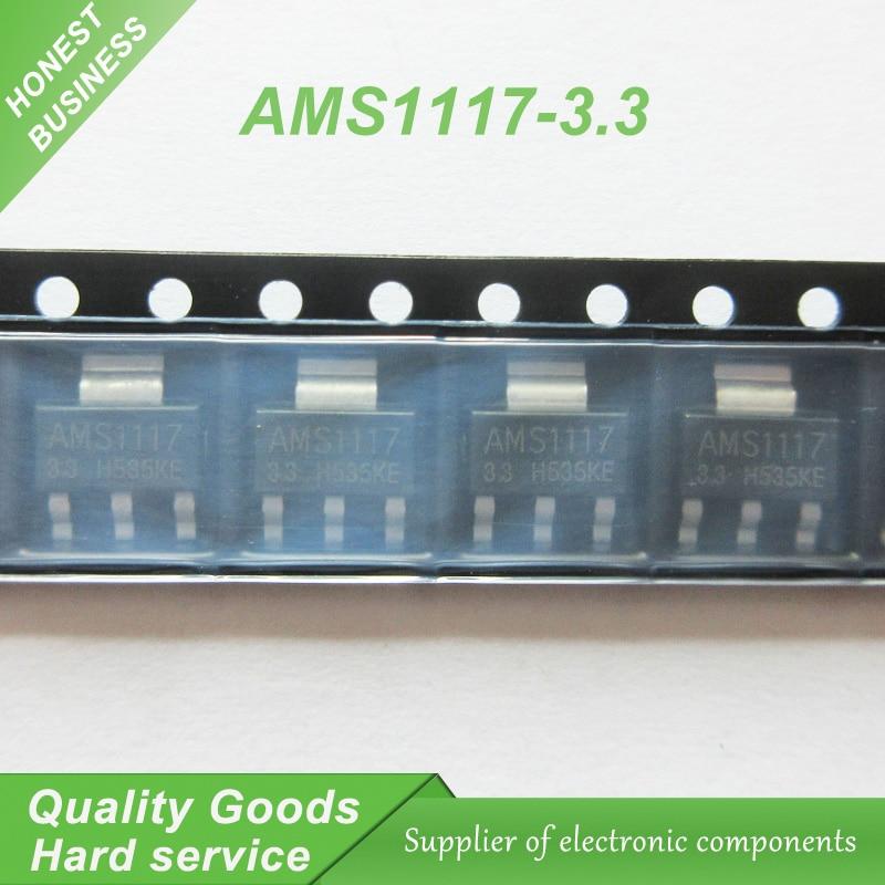 50pcs AMS1117 AMS1117-3.3V AMS1117-ADJ AMS1117-1.8 AMS1117-1.2 AMS1117-5.0 AMS1117-2.5 AMS1117-3.3 AMS1117-5.0 AMS1117-1.5