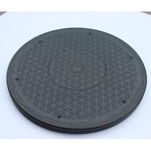 30 см черный пластиковый гончарный круг для керамики сверхмощный с поворотом поворотный стол Lazy Susans глиняная скульптура роторная вертушка