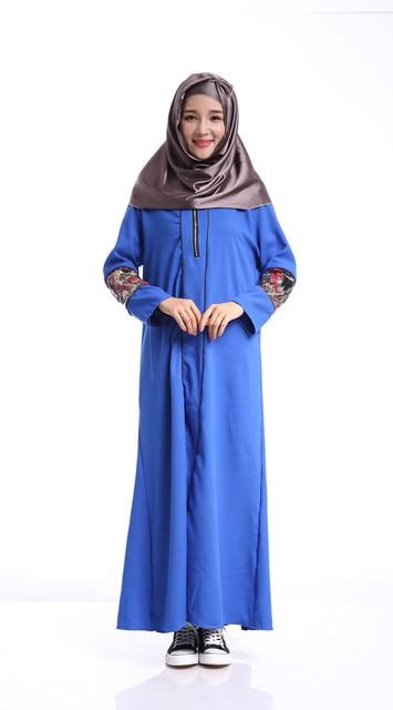 2016new мода мусульманских женщин платье плюс размер абая jibabs дубай кафтан с длинным рукавом талией платье форма printng халат арабские одежды