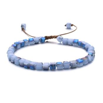 ZMZY Woman Bracelet Wristband Glass Crystal Bracelets Gifts Jewelry Accessories Handmade Wristlet Trinket 5