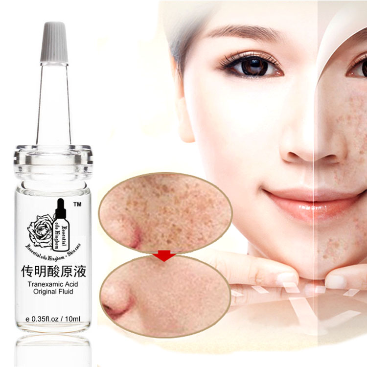 10ml * 2pcs Tranexamic kiselina izvorna tekućina izbjeljivanje i protiv bora vlaži melanin esencija freckle, anti-acne Indija