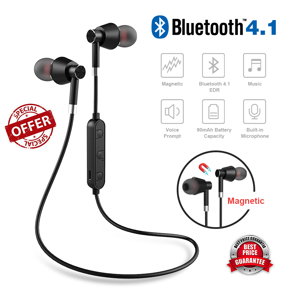 X DRAGON Bluetooth Earphone Wireless Ear Hook 3 7V 90mAh Version Sports Earphone for Xiaomi Huawei Moible Phone in Bluetooth Earphones Headphones from Consumer Electronics