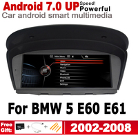 Android 7.0 up For BMW 5 E60 E61 2002~2008 CCC Car radio GPS multimedia player Navigation WiFi BT Multimedia Player Auto Radio