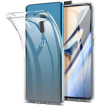 For OnePlus 7 Pro Clear TPU Case 1 MM Ultra Thin Transparent Back Cover Soft Silicone Phone Case For One Plus 7 Slim Funda Capa