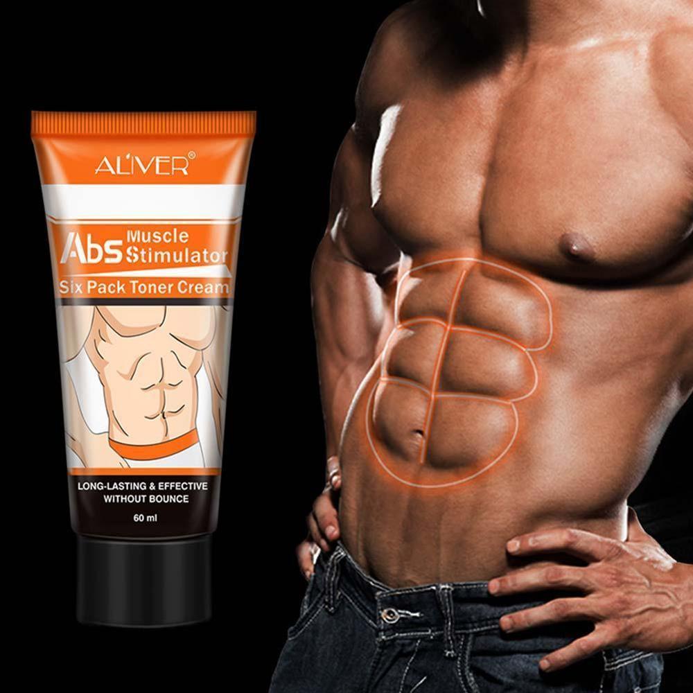 ALIVER Leistungsstarke Körper Creme Hormone Männer Muskel Starke Anti Cellulite Brennen Creme Abnehmen Gel Für Bauchmuskeln Muscle