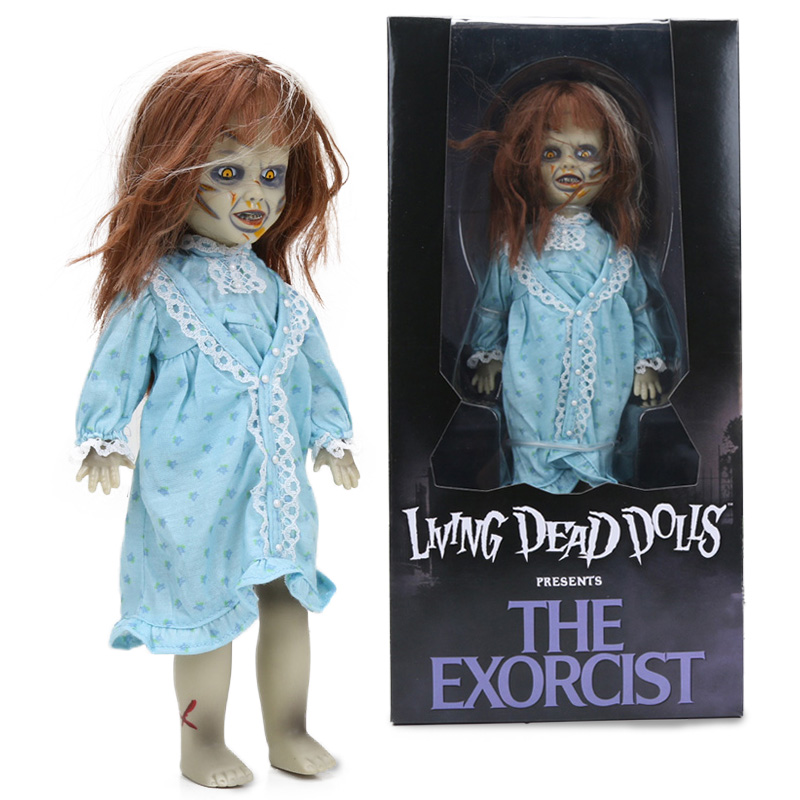 25cm Exorcist Living Dead Bride of Chucky PVC Action Figure Tiffany Doll Child's Play Toys Halloween Toys Dolls Gifts for Kids