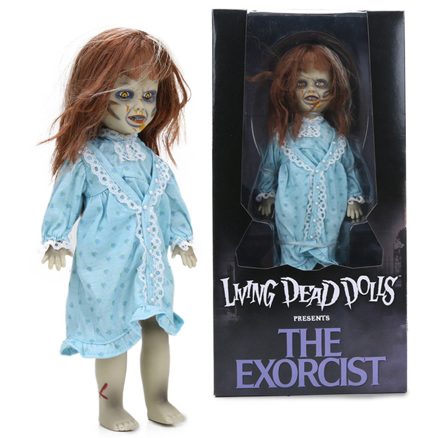 25cm exorcist living dead bride of chucky pvc action figure tiffany