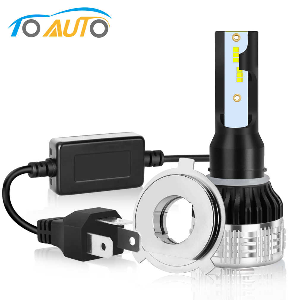6000LM H4 Led Motorcycle Headlight Bulbs Hi/Lo High Beam Driving Lights H4 Led Moto Bike Headlamp Scooter Accessories 12V