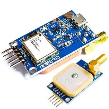 GPS NEO-8M de posicionamiento por satélite para placa de desarrollo NEO-7M  para Arduino STM32 C51 51