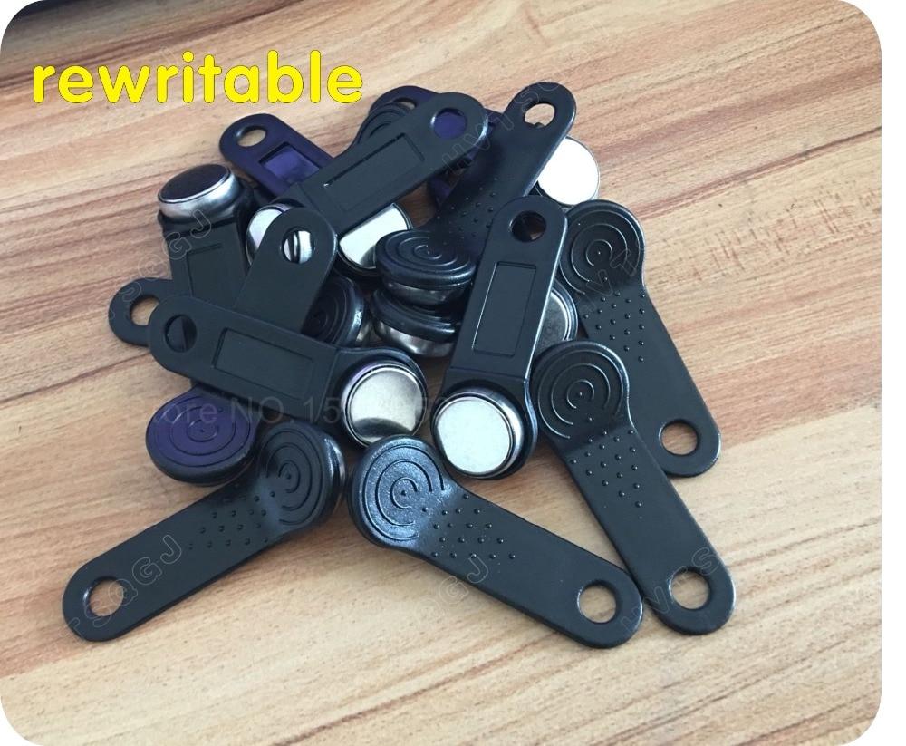 Memory Clone Duplicate Key Copy Card Sauna Key For Sale 5pcs Rewritable Rfid Touch Memory Key Rw1990 Ibutton,copy Card