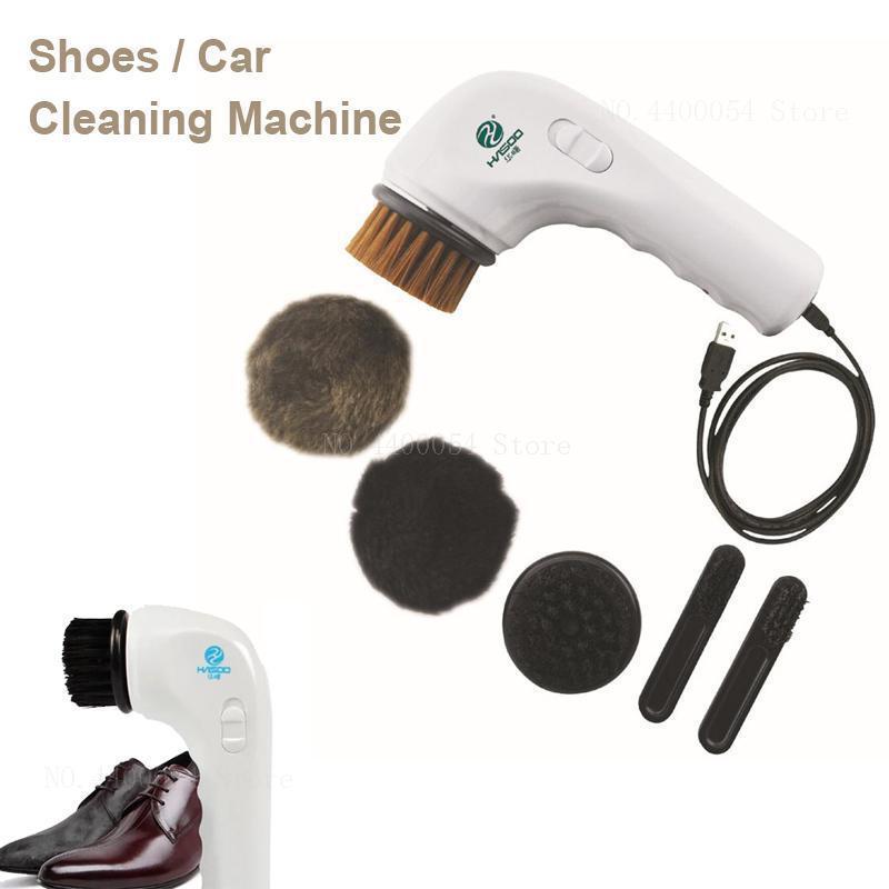Elektrische Tragbare Mini Schuh Claner Multifunktionale Schuhe Reinigung Maschine Für Auto Usb Stecker Automatische Polieren