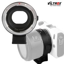 Adaptador Viltrox EF-EOSM Eletrônico Auto Focus Lens para Canon EOS EF EF-S lente para Canon EOS M EF-M M2 M3 M5 M6 M10 Montagem câmera